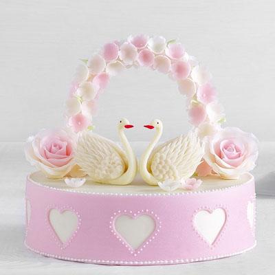黑天鹅订蛋糕-黑天鹅 祈愿天使