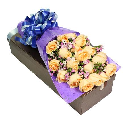鲜花公司-清纯丽人
