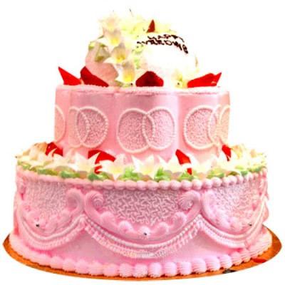 鲜花蛋糕-浪漫之旅
