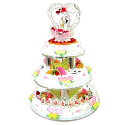 鲜花蛋糕速递网-水果夹心蛋糕