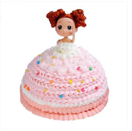 鲜花蛋糕-童真时代