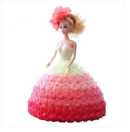 生日鲜花蛋糕-舞动奇迹