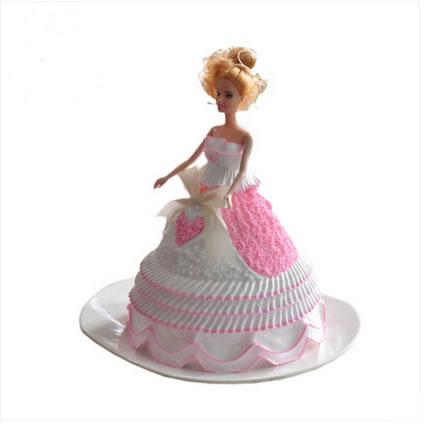 鲜花蛋糕-唇唇欲动