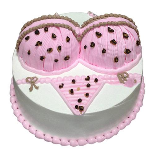 蛋糕鲜花-粉色诱惑