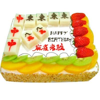 买蛋糕-麻将蛋糕