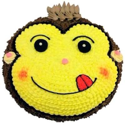 巧克力水果蛋糕-�C�`小猴