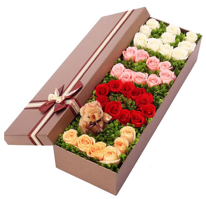 鲜花网-love礼盒