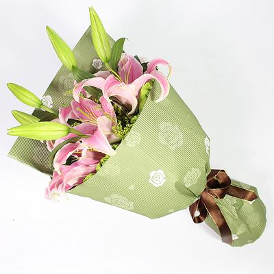 鲜花订购-粉色情缘