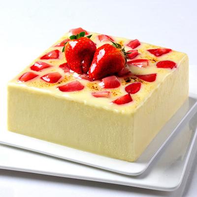 巧克力蛋糕-草莓慕斯