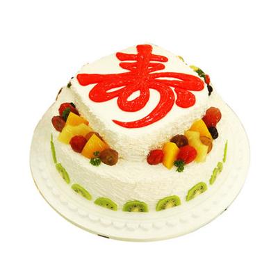 米旗品牌蛋糕-祝寿
