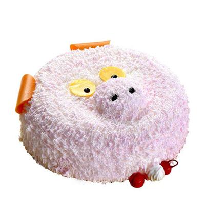 买蛋糕-儿童小猪