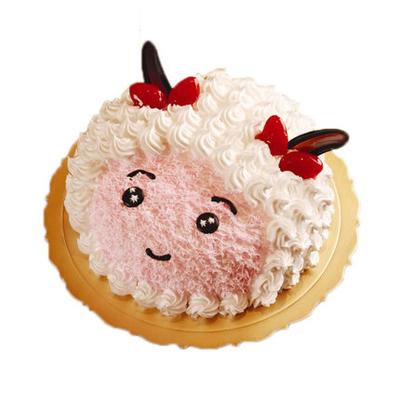 蛋糕订购-美羊羊