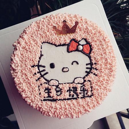 米旗品牌蛋糕-hello Katie