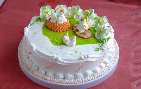 蛋糕订购-鸡年大吉