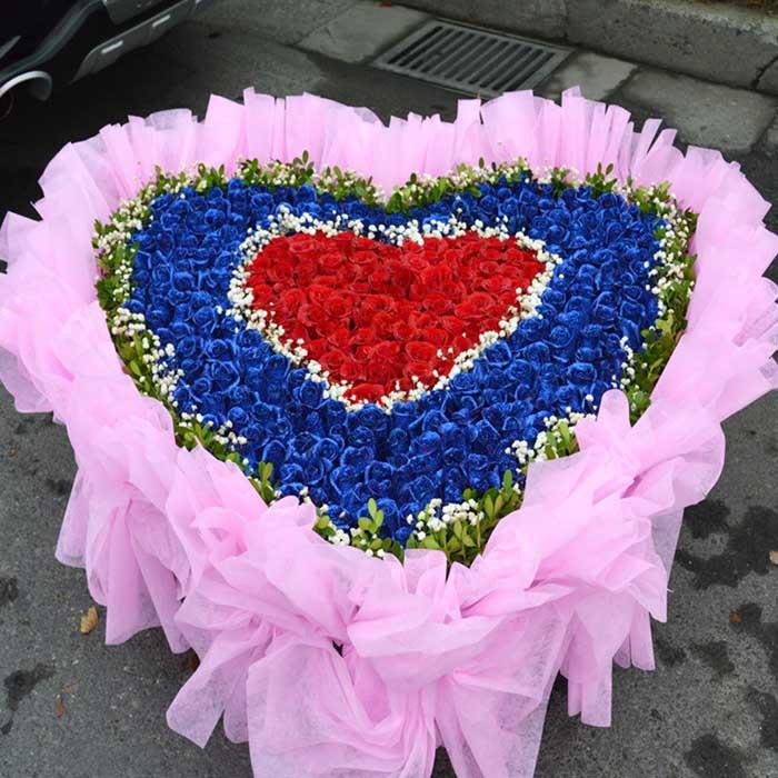 鲜花网-爱你一生