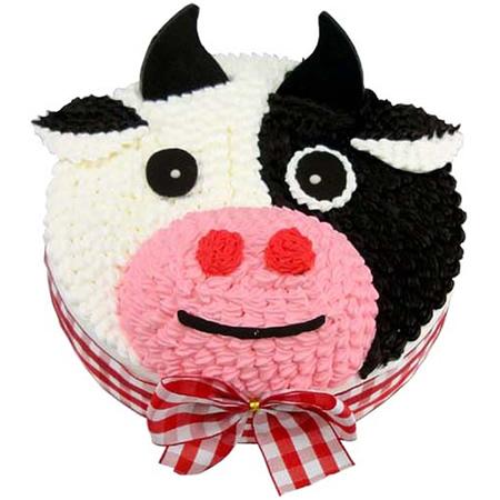 蛋糕订购-可爱牛牛