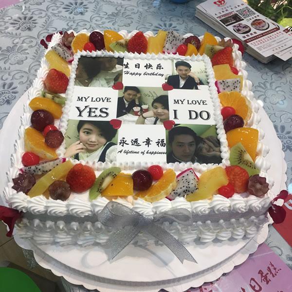 米旗品牌蛋糕-数码蛋糕-浪漫满屋