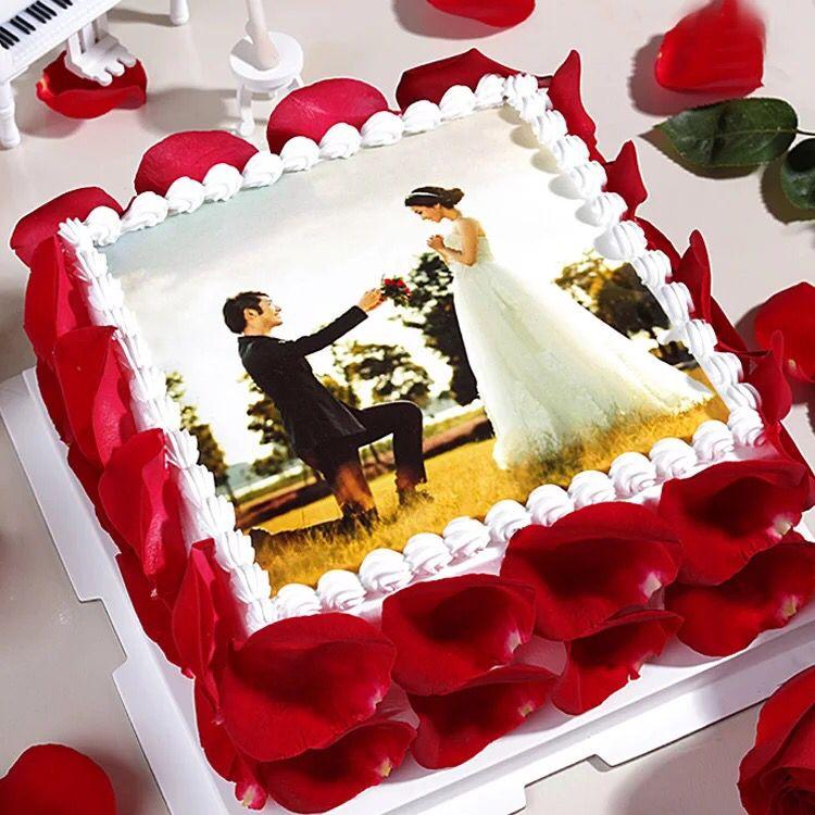 巧克力蛋糕-数码蛋糕-相思情侣