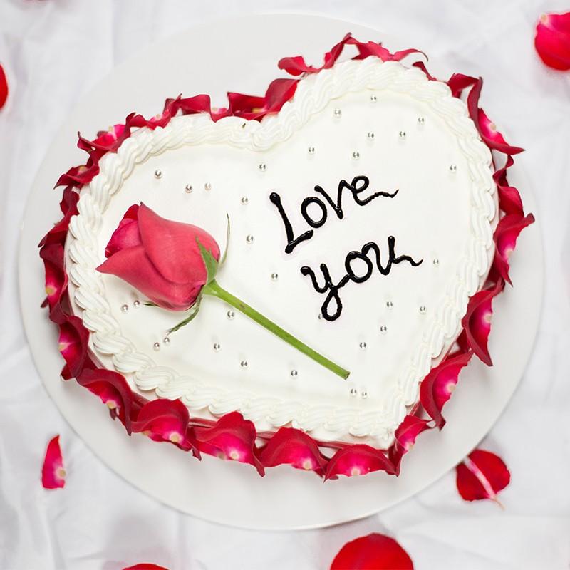 蛋糕订购-纯白之恋