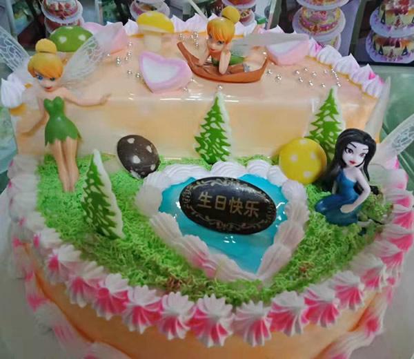 卖蛋糕dangao-美人鱼蛋糕