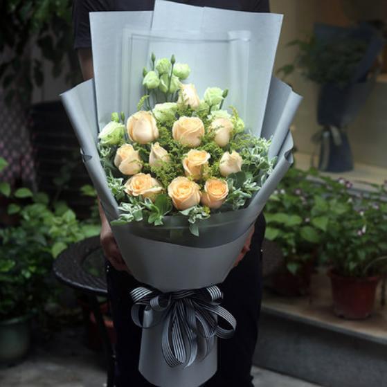 鲜花订购-一心一意