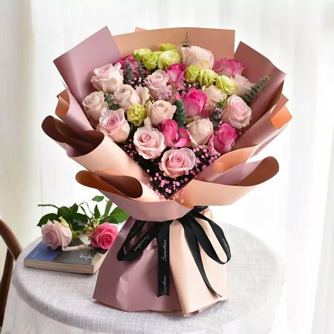 鲜花店-快乐每一天