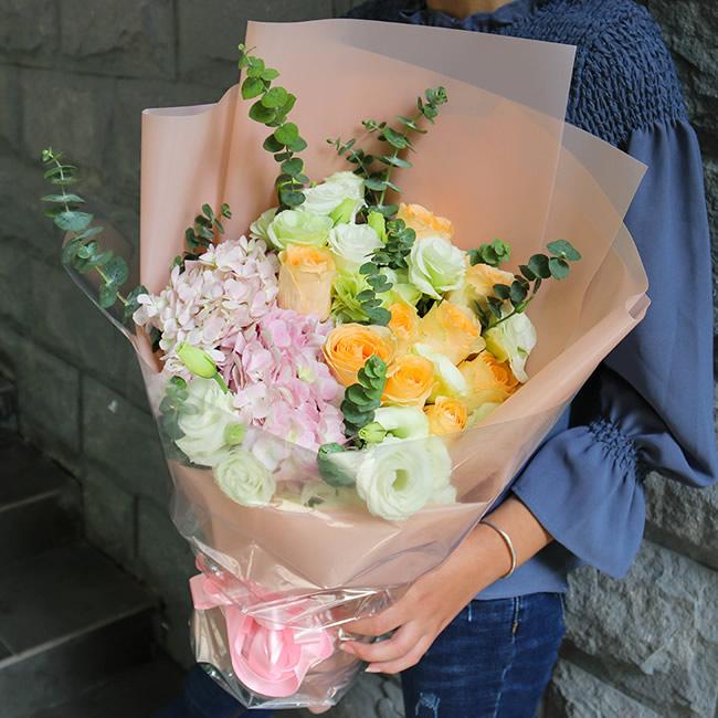 鲜花店-信守对你的爱