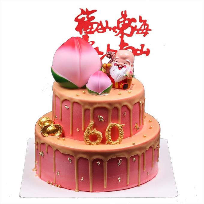 送蛋糕-蟠桃贺寿