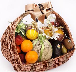 兰之馨水果篮:果篮-浪漫满篮