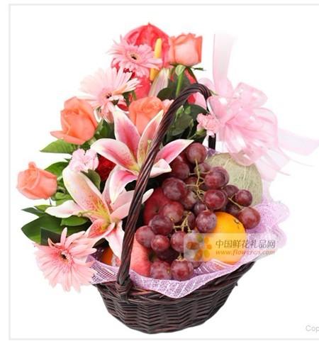 兰之馨水果篮:果篮・节日快乐