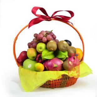 兰之馨水果篮:果篮・大丰收