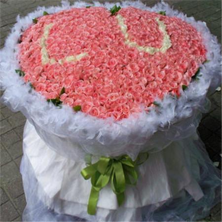 兰之馨鲜花店-粉色情缘
