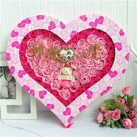 兰之馨肥皂花:92朵钟爱一生小熊