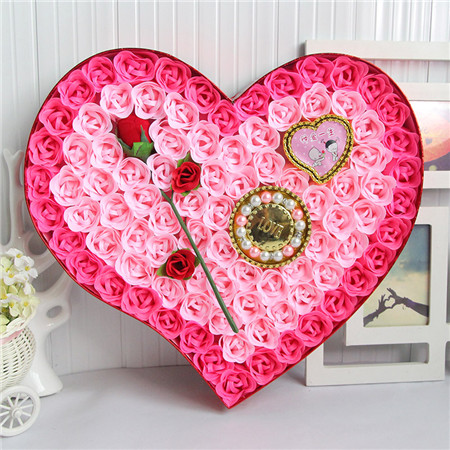 兰之馨肥皂花:香皂花-92朵一枝花手链