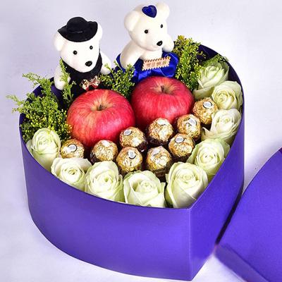 兰之馨鲜花订购-圣诞礼盒3