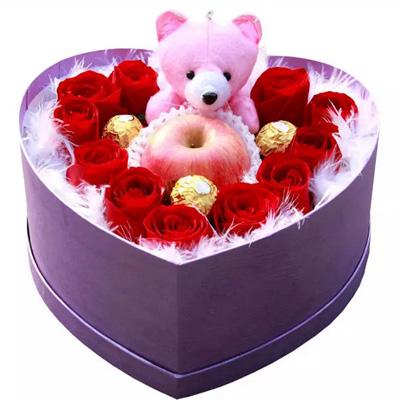 兰之馨鲜花快递网-圣诞礼盒5