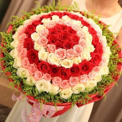 兰之馨花店:我爱你
