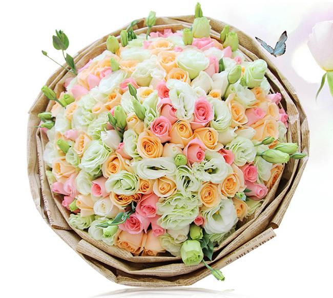 兰之馨鲜花公司-祝福不变